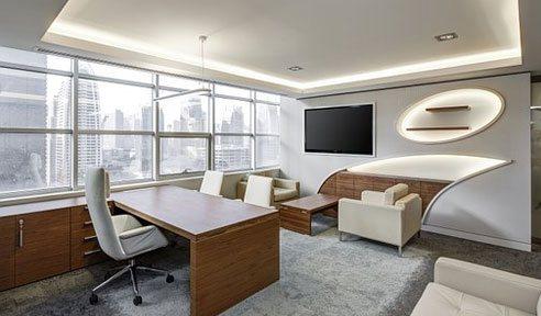 indoor street view Office